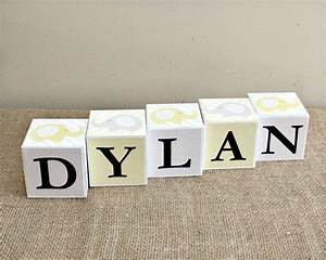 best 25 letter blocks ideas only on pinterest photo With custom baby block letters