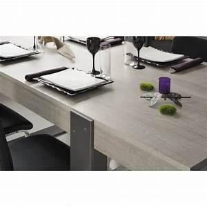 Table à Manger 10 Personnes : loft table manger de 8 10 personnes style industriel d cor ch ne et gris l 224 x l 90 cm ~ Teatrodelosmanantiales.com Idées de Décoration