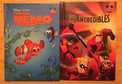 2 Disney Pixar Wonderful World Of Reading Finding Nemo The