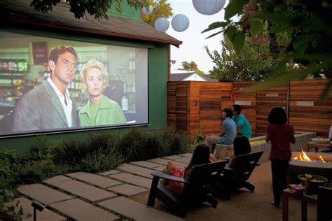 How To Create A Movie-lover's Yard