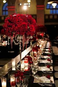 Red Rose Centerpieces on Pinterest