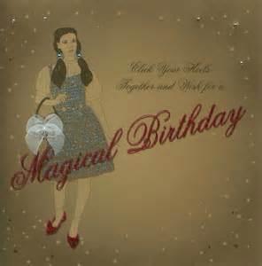 Wizard of Oz Happy Birthday Cards