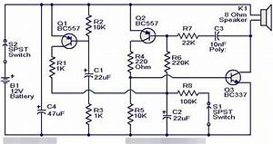 Eletr U00f4nica Campo El U00e9trico   Sirene Eletr U00f4nica Transistorizada