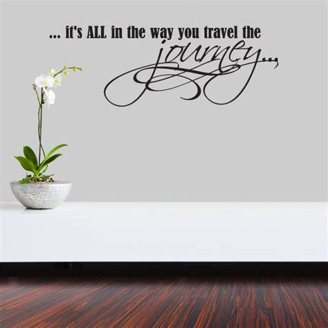 travel  journey vinyl wall