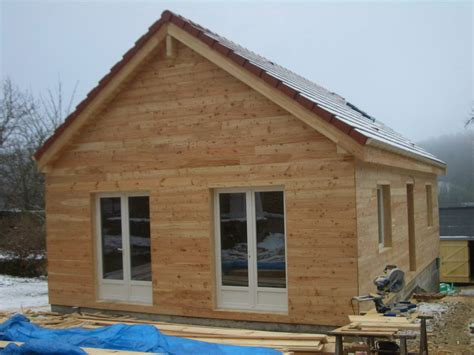 chalet et maison en bois chalets decebal ossature bois