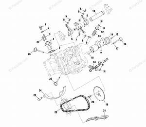 Polaris Atv 2001 Oem Parts Diagram For Intake Exhaust