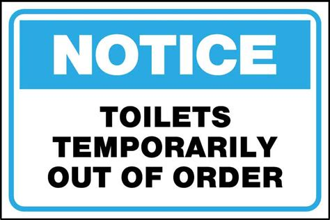 bathroom out of order sign popular home security charming