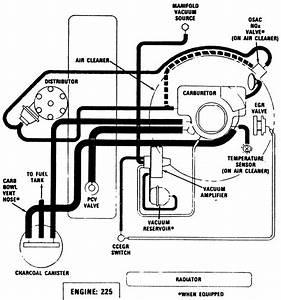 1979 Dodge Sportsman Camper Vacuum Hose Schematic