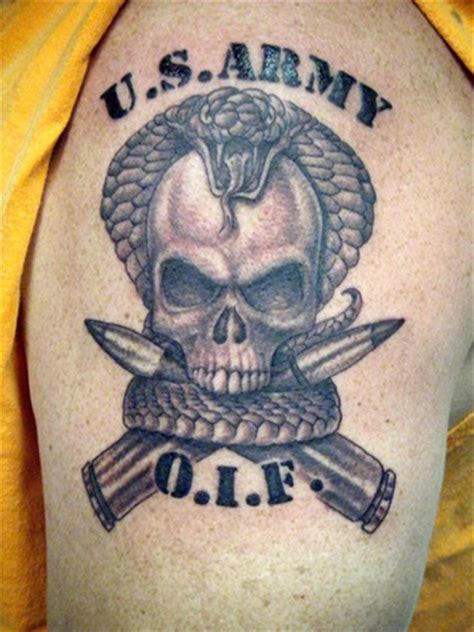 army skull tattoo ideas