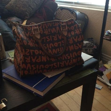 authenticating  limited edition monogram graffiti speedy  handbag