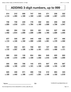 HD wallpapers multiplication worksheets 60 problems Page 2
