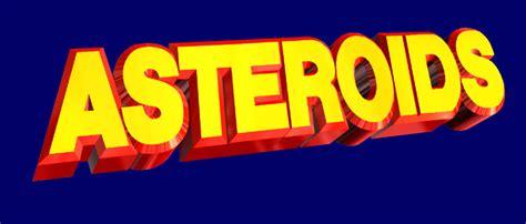 atari asteroids game logo