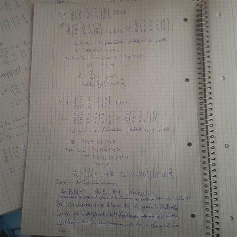 ist die gegebene matrix  diagonalisierbar diagonalmatrix