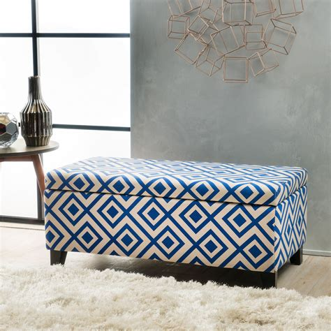Blue Leather Ottoman Coffee Table by Coffee Tables Ideas Gallery And Tips