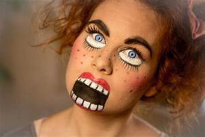 Halloween Make Up Puppe : das einfache halloween makeup chucky puppe schminken doll 39 s face youtube ~ Frokenaadalensverden.com Haus und Dekorationen