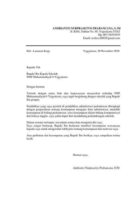 Contoh Surat Lamaran Kerja Jurusan Akuntansi Dalam Bahasa Makeup