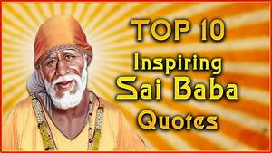 Top 10 Sai Baba... Shirdi Sai Motivational Quotes