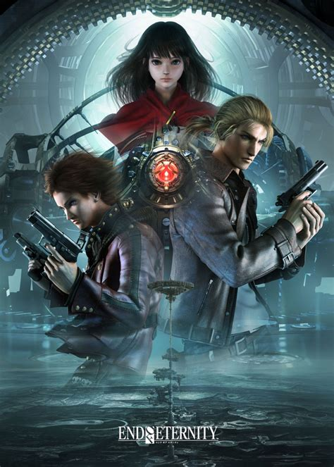 promo poster characters art resonance  fate