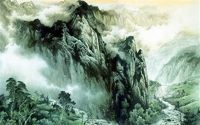 Chinese Mountains Rivers Wallpapers