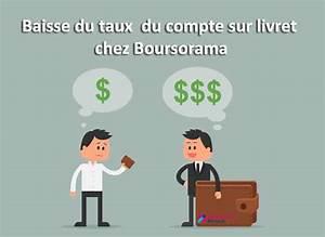 Deposer Cheque Boursorama : baisse du taux compte sur livret boursorama 01 banque en ligne ~ Medecine-chirurgie-esthetiques.com Avis de Voitures