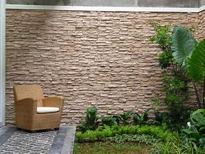 Exterior wall designs with tiles ingeflinte