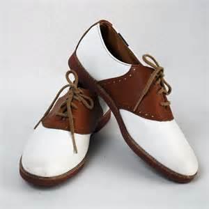 Vintage Saddle Oxford Shoes for Women