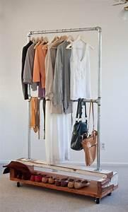 Kleiderständer Selber Bauen : kleiderst nder selber bauen ersatz f r den kleiderschrank ideen rund ums haus ~ Eleganceandgraceweddings.com Haus und Dekorationen