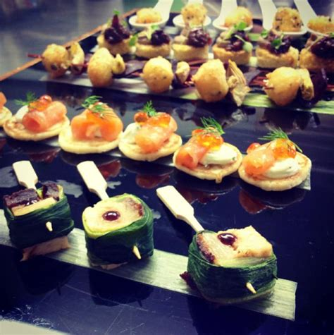 canapes finger food delicious and stunning canapés at farnham castle wedding