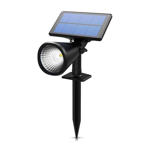 Solar Power Spot Light Spotlight Outdoor Led Garden Yard