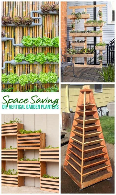 diy vertical gardens  small spaces garten