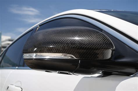 jaguar xj xk xf carbon fiber mirror cover