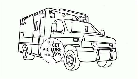 rescue vehicles coloring pages gallery coloring  kids