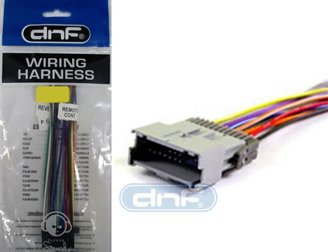 Car Stereo Player Aftermarket Radio Wiring Harness