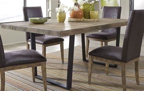 trestle dining table grey springs gray trestle dining table 128 t4276 liberty 6376