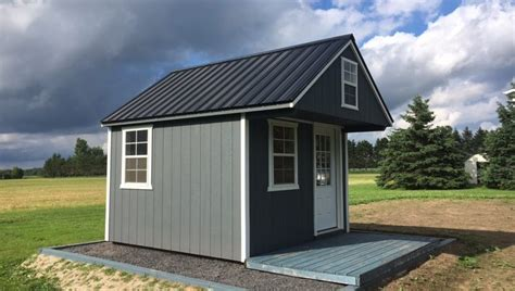 shed with sleeping loft lakeside bunkie shed 187 country sheds