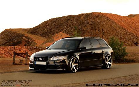 audi rs wagon  cw  lars  designs concavo wheels