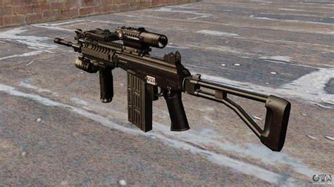 Automatic Rifle Galil Tactical For Gta 4