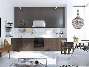 6 Beautiful Scandinavian Kitchen Design Ideas with A