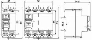 2p elcb 63a 30ma electro magnetic type rccb id residual With wiring diagram of rccb