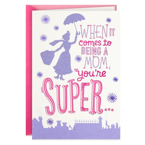Check spelling or type a new query. Disney Mary Poppins Mother's Day Card - Greeting Cards - Hallmark