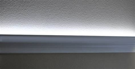 See Indirect Room Led And Rope Lighting In Foam Crown Molding
