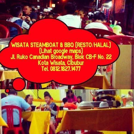 Steamboat Cibubur by Wisata Steamboat Bbq Bogor Ulasan Restoran Tripadvisor