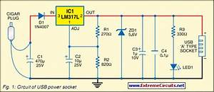 How To Build Usb Power Socket With Indicator
