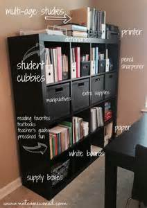 Homeschool Room Organization Ideas