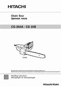 Hitachi Cs 35b Handling Instructions Manual Pdf Download