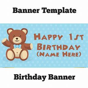 50th birthday banner template virtrencom With 50th birthday banner template