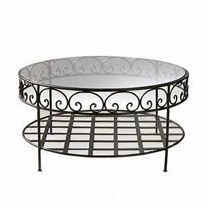 Table Basse Ronde Maison Du Monde : table basse essaouira maisons du monde ~ Teatrodelosmanantiales.com Idées de Décoration