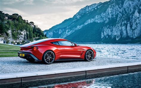 Aston Matin Car : Aston Martin Vanquish Zagato Production Car Revealed