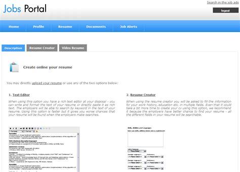 Resume Creator Script by Multi Language Portal Php Script Resume Creator