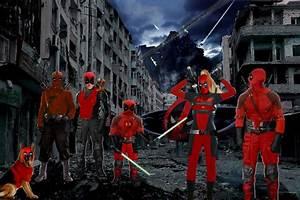 Deadpool Corps live by Darth-Slayer on DeviantArt
